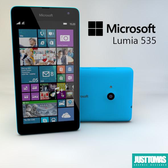 Microsoft Lumia 535 - 3DOcean Item for Sale