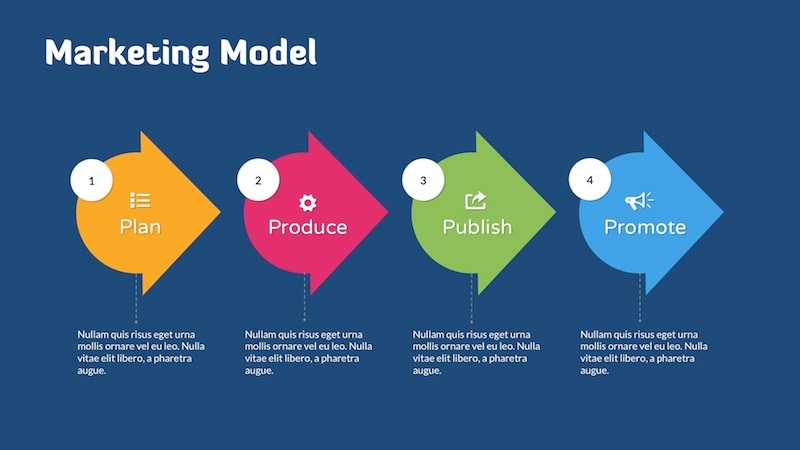 Digital Marketing Strategy - Keynote Template by Slidehack ...