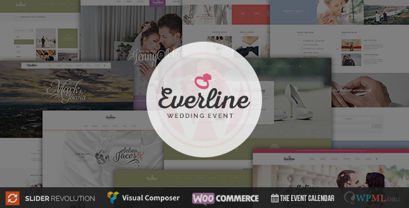 Wedding Event – Everline WordPress Theme