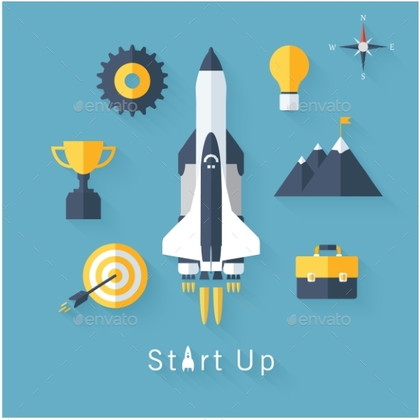 Start Up Concept  - Business Conceptual