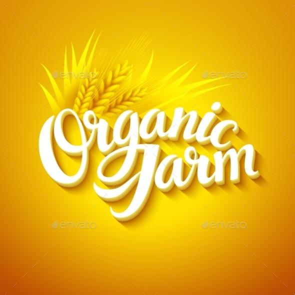 Organic Farm Logo - Miscellaneous Vectors