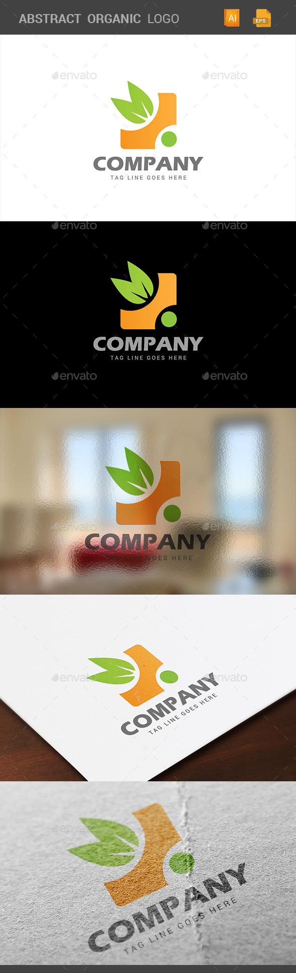 Organic Abstract Logo - Logo Templates