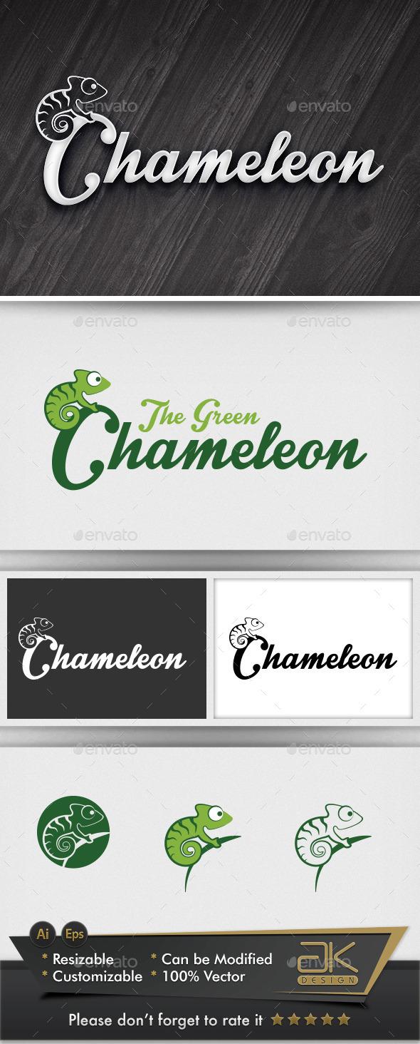 Chameleon - Animals Logo Templates