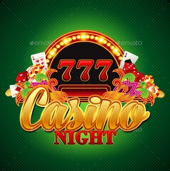 Casino Background - Objects Vectors