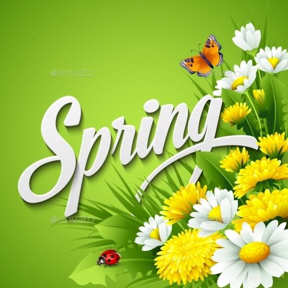 Fresh Spring Background - Miscellaneous Seasons/Holidays