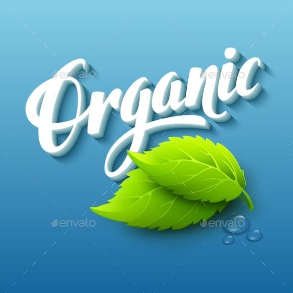 Organic Logo - Health/Medicine Conceptual