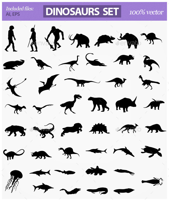 Dinosaurs - Animals Characters
