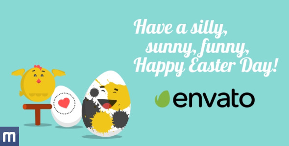 Funny easter video greeting card by jbmotion videohive play preview video m4hsunfo