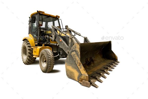 bulldozer - Stock Photo - Images