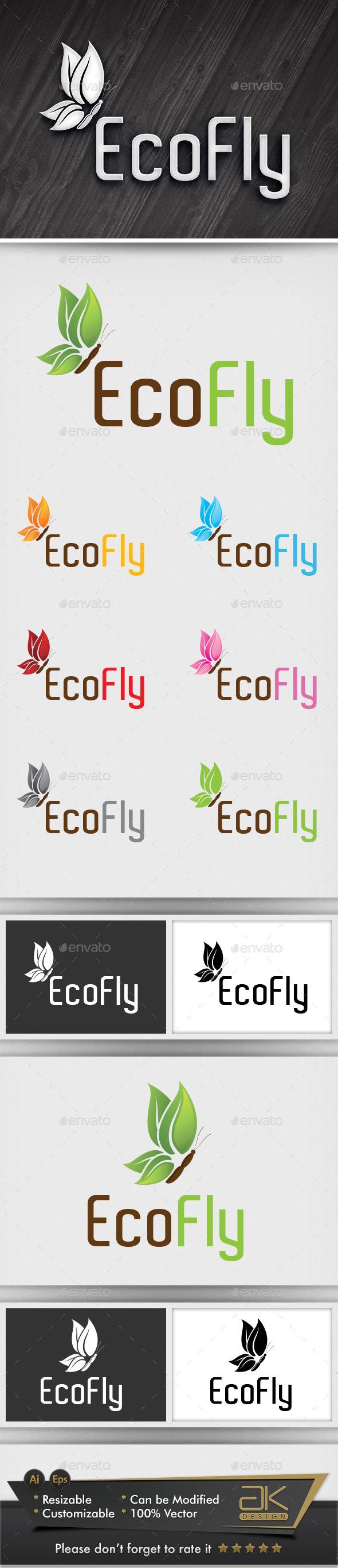 Eco Fly - Nature Logo Templates