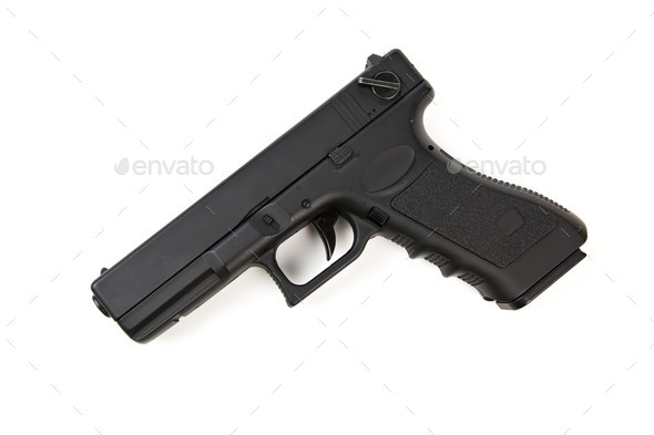 handgun - Stock Photo - Images