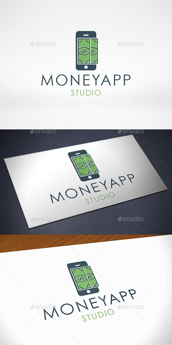 Money Phone App Logo Template - Symbols Logo Templates