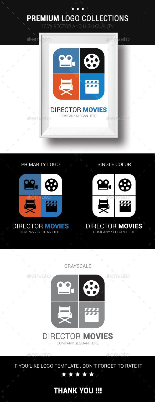 Director Movies - Humans Logo Templates
