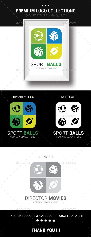 Sport Balls - Symbols Logo Templates