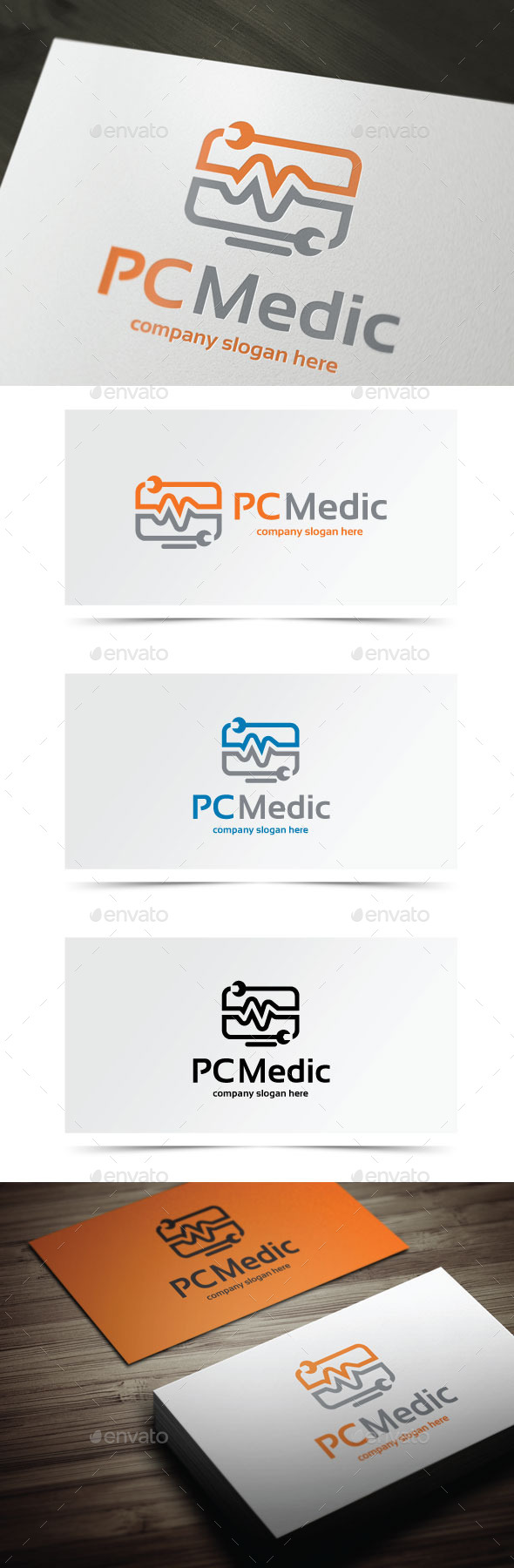 PC Medic - Objects Logo Templates