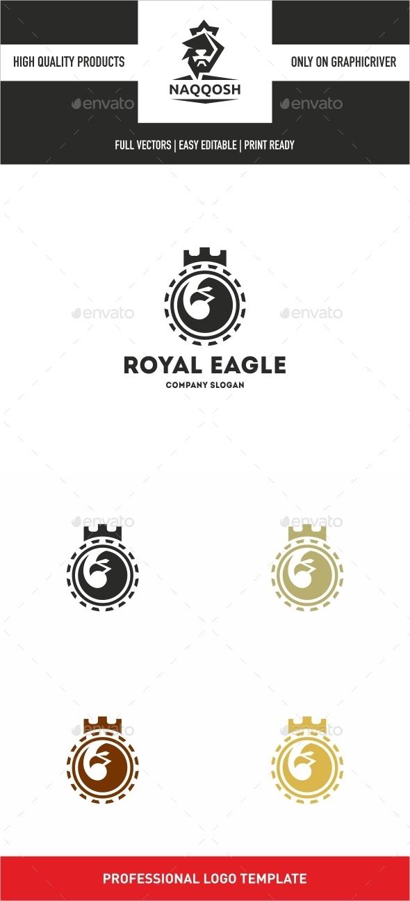 Royal Eagle  - Crests Logo Templates
