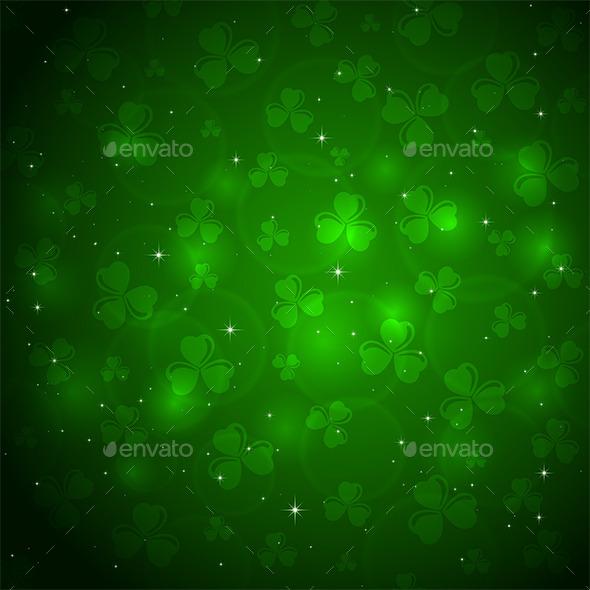 Patricks Day Background - Backgrounds Decorative