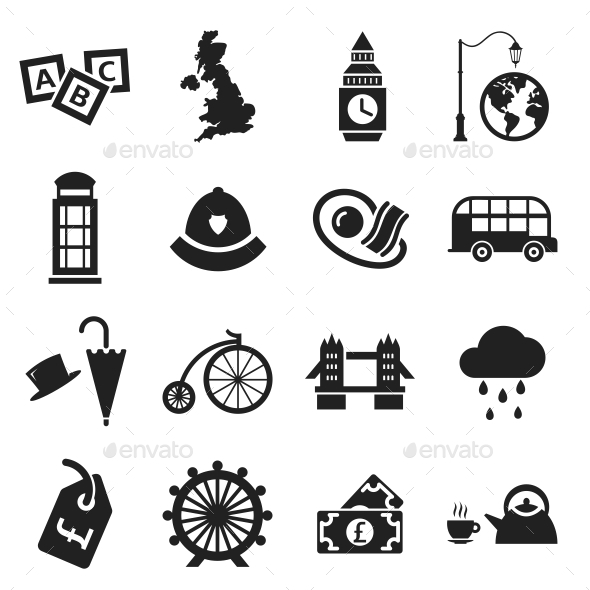 London Icons - Objects Icons