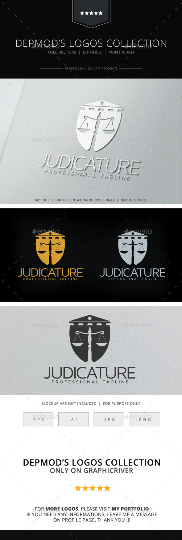 Judicature Logo - Crests Logo Templates