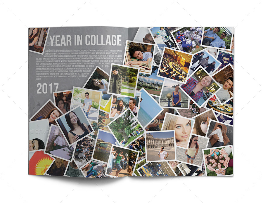Yearbook Template by zheksha | GraphicRiver