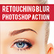 Blur Retouching Action - GraphicRiver Item for Sale