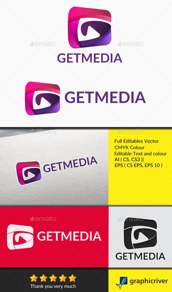 Getmedia_Letter G - Symbols Logo Templates
