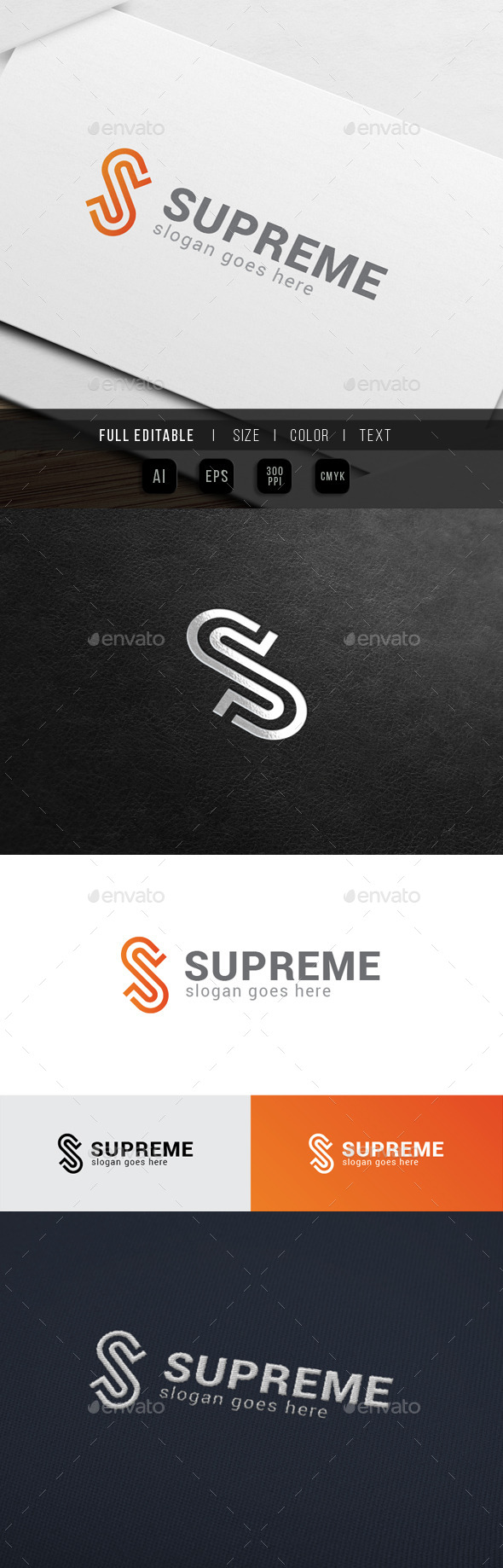 Super Supreme - Letter S - Letters Logo Templates