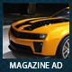 Car Dealer & Auto Services Business Magazine Ad - GraphicRiver Item for Sale