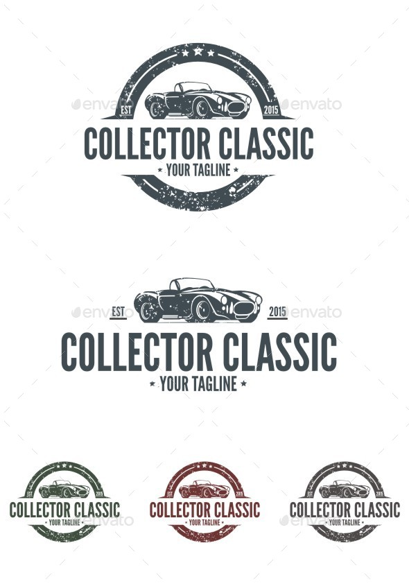 Collector Classic Logo - Objects Logo Templates