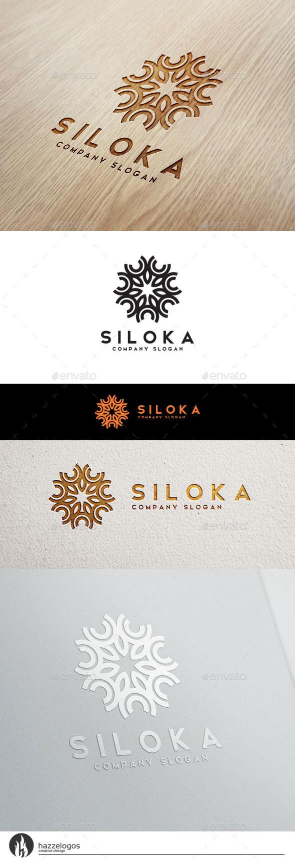 Siloka Logo - Crests Logo Templates