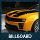Car Dealer & Auto Services Signage Billboard - GraphicRiver Item for Sale