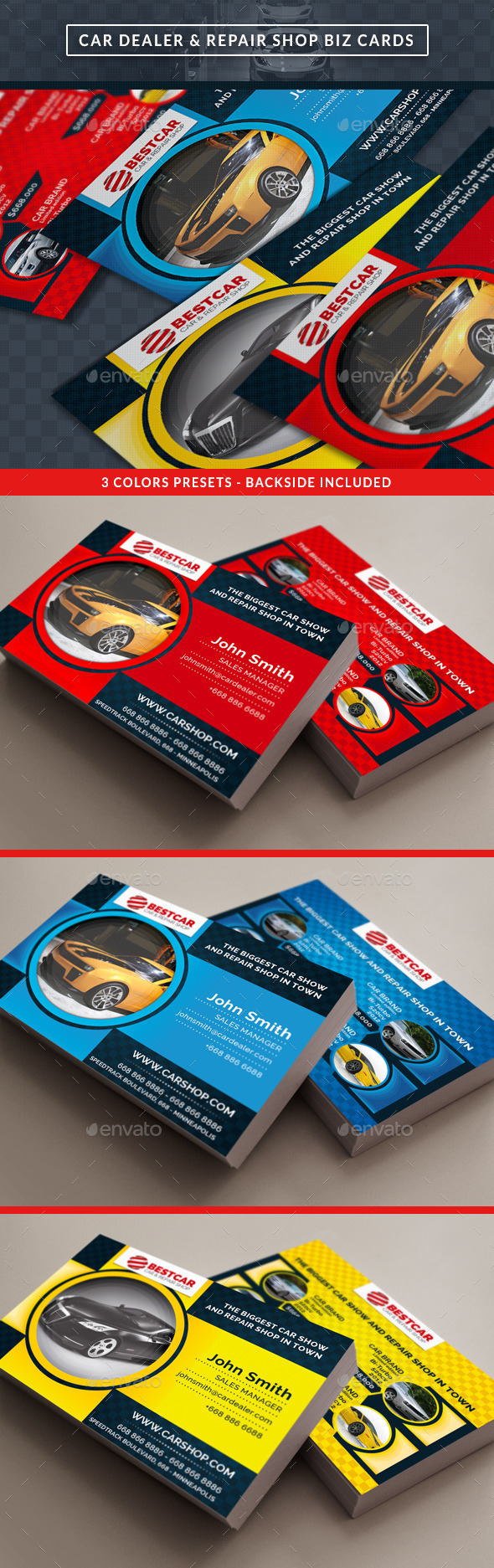 Car dealer auto services business card by gilledeville car dealer auto services business card business cards print templates magicingreecefo Image collections
