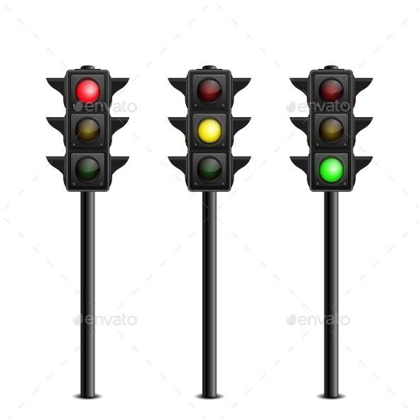 Traffic Lights  - Vectors