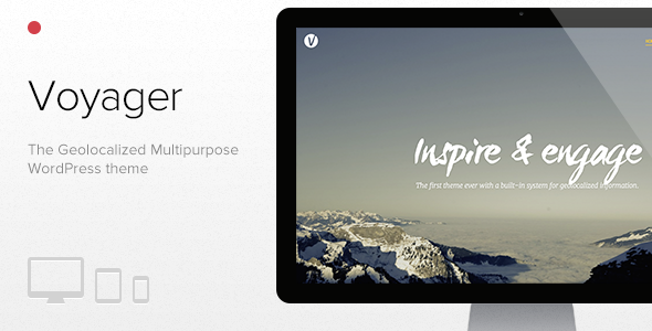 Voyager – The Geolocalized Multipurpose WP theme