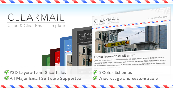 Free Download CLEARMAIL - Newsletter Premium Template Nulled Latest Version