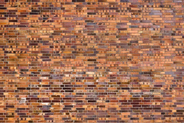Beautiful old brick wall - Stock Photo - Images