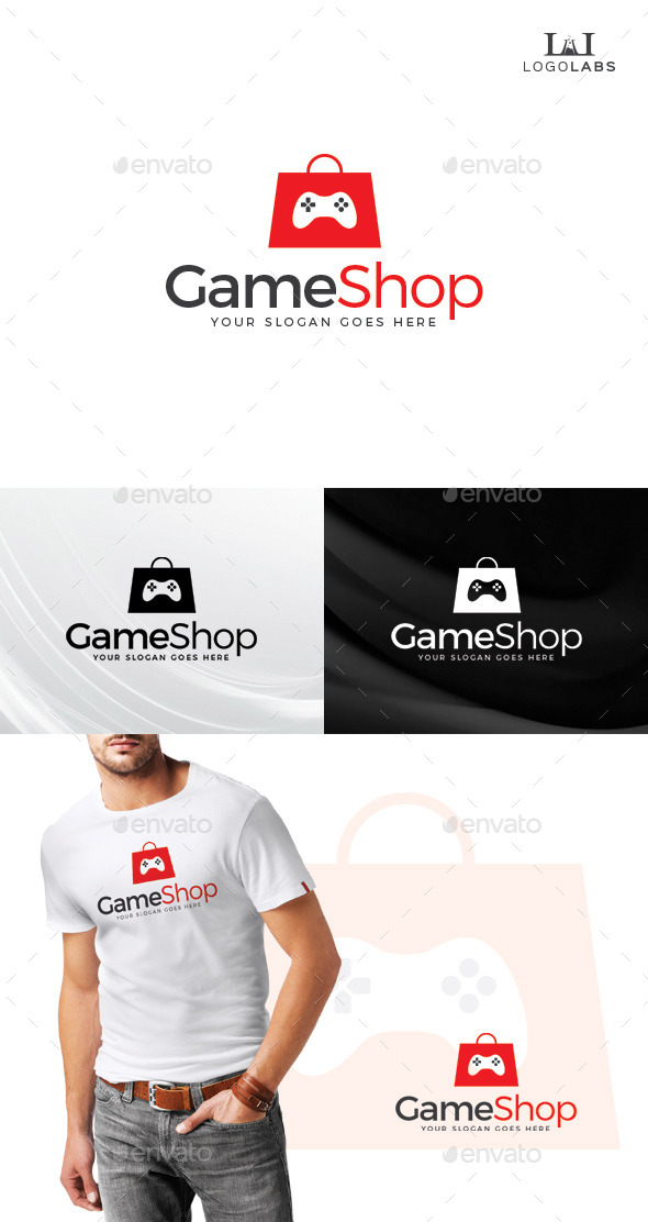 Game Shop Logo - Objects Logo Templates
