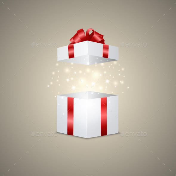 Gift Box with a Magic Effect - Miscellaneous Seasons/Holidays