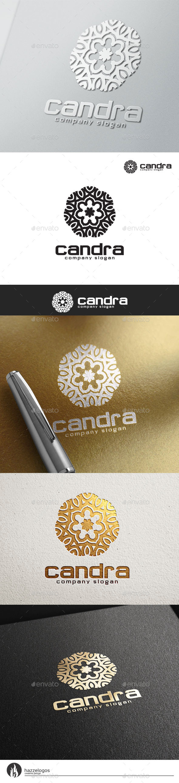 Candra Logo - Crests Logo Templates