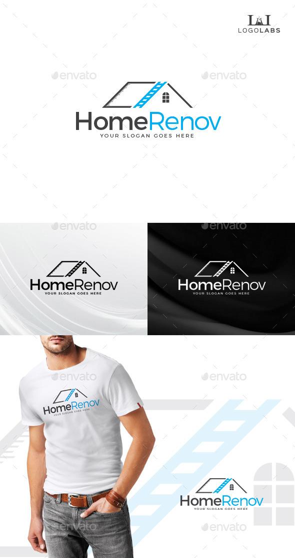 Home Renovation Logo - Buildings Logo Templates