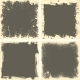 Four Grunge Frames - GraphicRiver Item for Sale