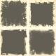 Four Grunge Frames - GraphicRiver Item for Sale