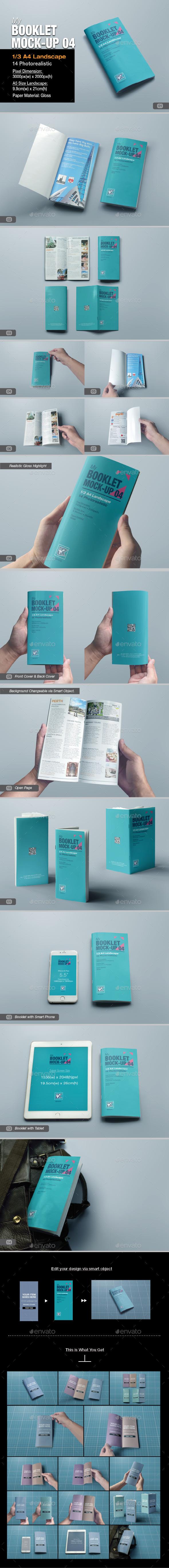 myBooklet Mock-up 04 - Brochures Print