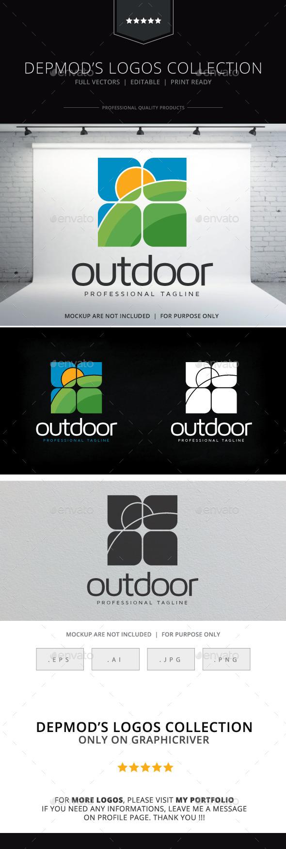 Outdoor Logo - Nature Logo Templates