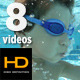 Underwater Kid Pack 2 - 8 Shots - VideoHive Item for Sale