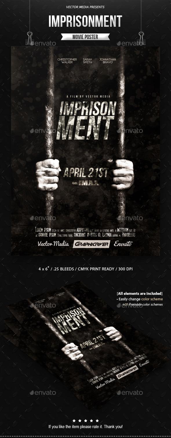 Imprisonment - Movie Poster - Miscellaneous Events