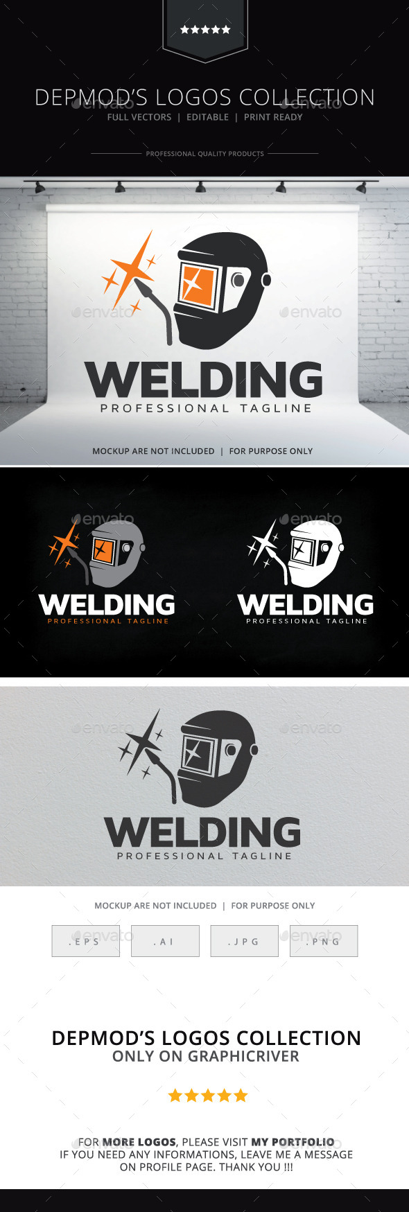 Welding Logo - Objects Logo Templates