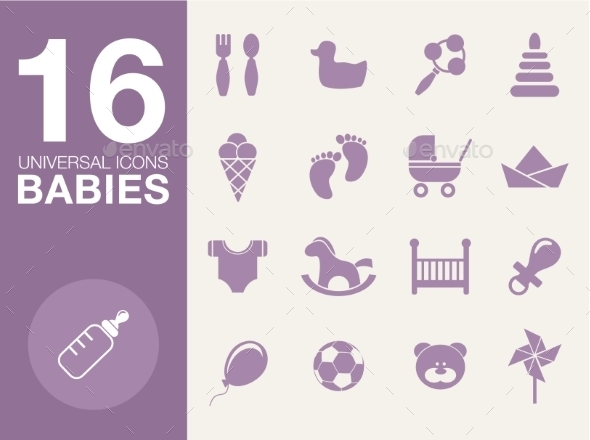 Baby Symbols Set  - Miscellaneous Conceptual