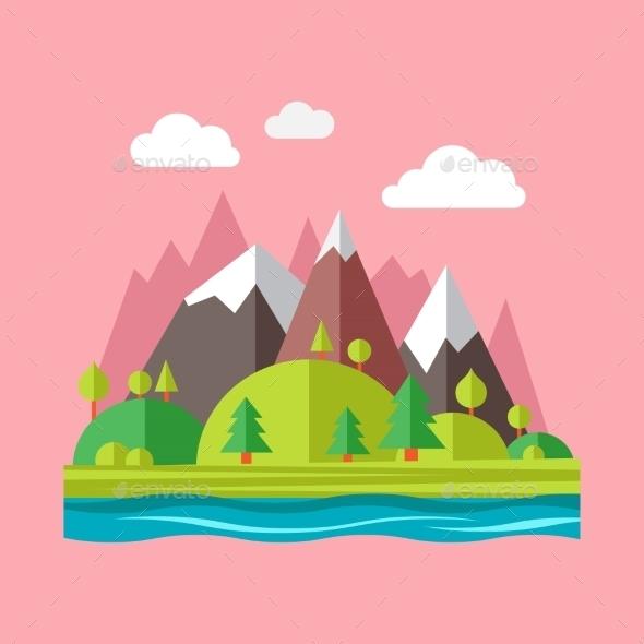 Landscape Concept  - Nature Conceptual