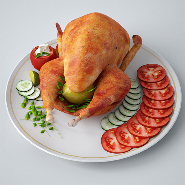 Turkey - 3DOcean Item for Sale